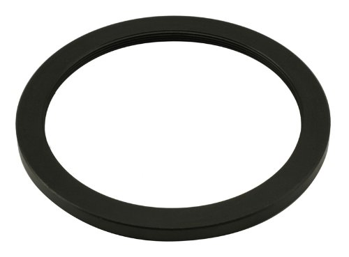 Fotga Black 62mm to 52mm 62mm-52mm Step Down Filter Ring for DSLR Camera Lens and Neutral Density ND UV CPL Circular Polarizing Infrared Points Star Len Filters