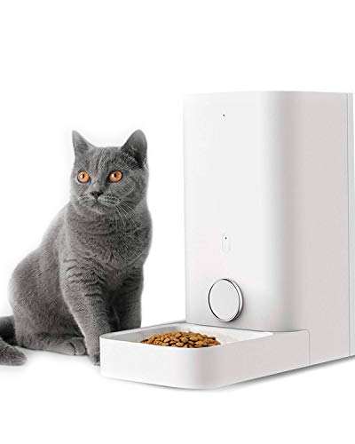 PETKIT Automatic Cat Feeder Dog Feeder, Wi-Fi Enabled SmartFeeder, App for iOS and Android, Work with Alexa, Portion Control with Timer programmable, Fresh Lock System Auto Food Dispenser Pet Feeder