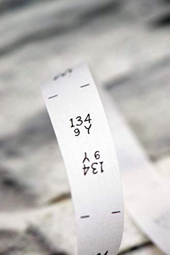 Größenetiketten 134 9 Jahre, für Kleidung, Babys und Kinder, zum Einnähen, Einzelgröße, 25 Stück, Textiletiketten, Einnähetiketten, nähen 0,20 €/St.