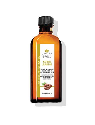 Nature Spell Jojoba-Behandlungsöl für Haar und Körper, 150 ml