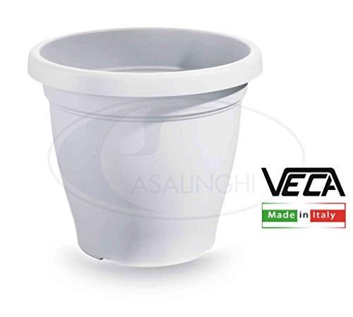 Blim Verona Pot de Fleurs, Blanc, 40 cm