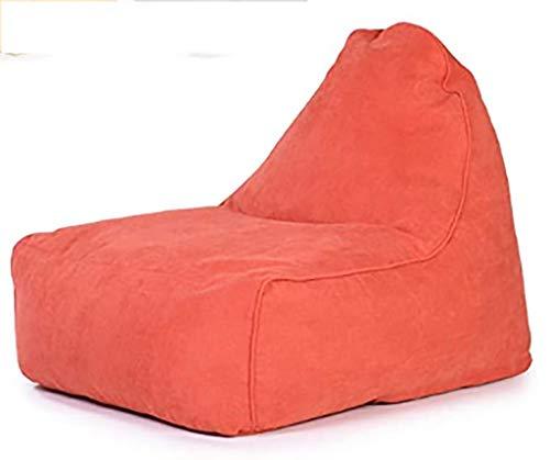 yxx Kein Füllstoffspeicher Bohnenbeutel Stuhlabdeckung, tragbare große waschbare weiche und Bequeme Möbel Bohnenbeutel for Home Gartenlounge Wohnzimmer 3 Farben zur Auswahl, Imperial Yellow