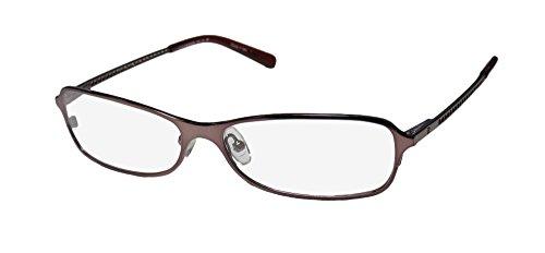 John Richmond 01004 Mens/Womens Designer Full-Rim Shape Flexible Hinges Upscale Exclusive Italian Eyeglasses/Eye Glasses (55-14-135, Shiny Burgundy)