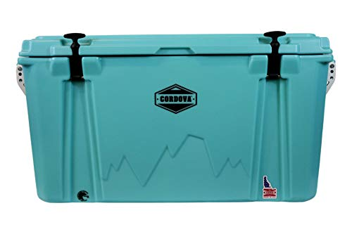 Cordova Coolers Outdoors 20 qt Sidekick Cooler, Rotomolded, American Made, Certified Bear Resistant, Beach Blue