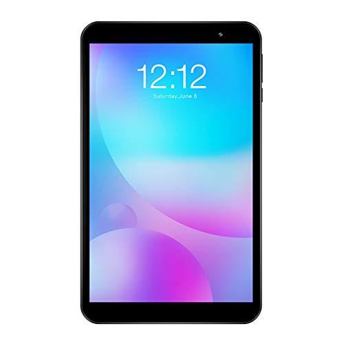 Tablet 8 Zoll TECLAST P80 Tablett PC, Android 10, Quad Core, 2GB RAM 32GB ROM, 1280x800 IPS, 64 Bit, Bluetooth 5,0, AC Dual Band WLAN, Duale Kamera, Typ C