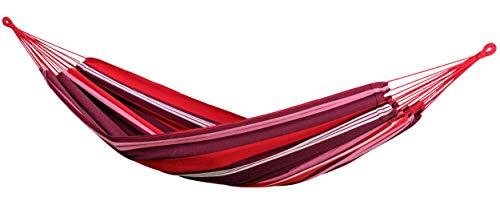 AMAZONAS Hängematte Salsa Fuego wetterfest und UV-beständig 210cm x 140cm bis 150kg buntgestreift