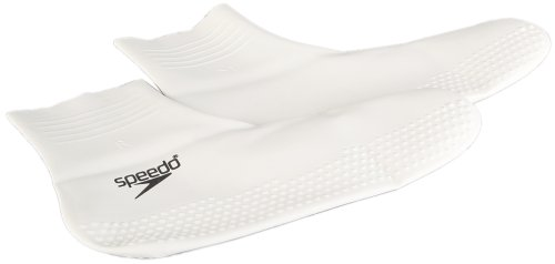 Speedo Latex, Calzini Unisex Adulto, Nero (White/Black), M