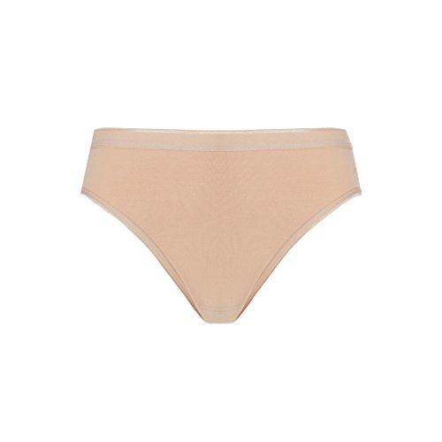 3 Pack Naadloze katoenen Bikini Briefs - Tan, M | Tien Cate 3 Pack Naadloze katoenen Bikini Briefs - Tan, M | Tien Cate