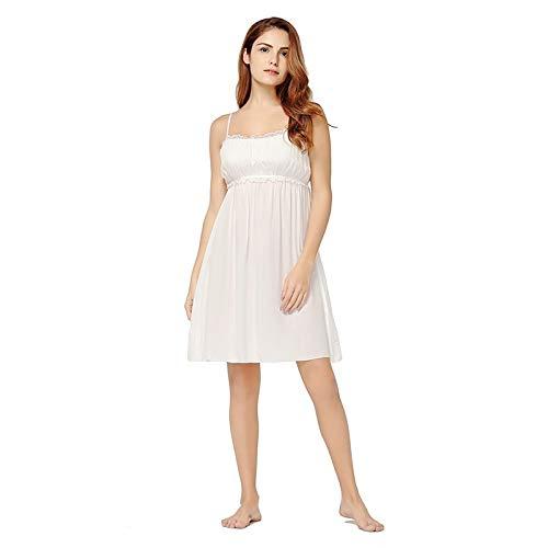 nobrand FrauenSexyKleid Nachtwäsche Riemen Ärmelloses Nachthemd