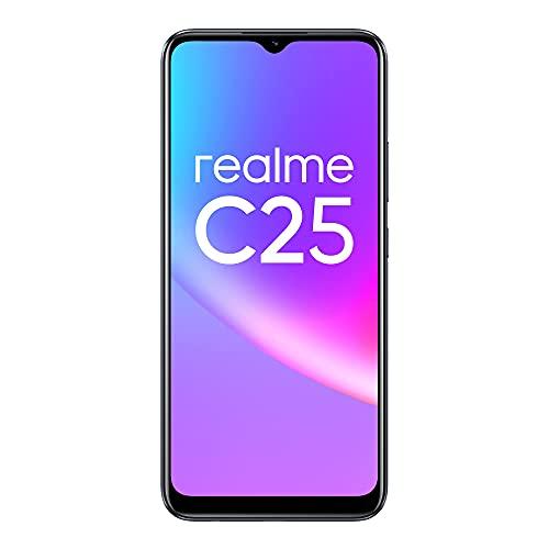 (Renewed) realme C25 (Watery Grey, 4GB RAM+128GB Storage) with No Cost EMI/Additional Exchange Offers