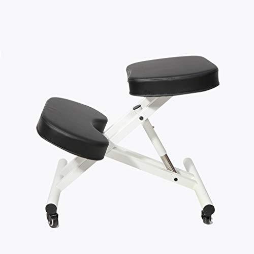 Best Prices! DLT Ergonomic Kneeling Stool for Office with 4 Wheels, Ergonomic Kneeling Posture Offic...