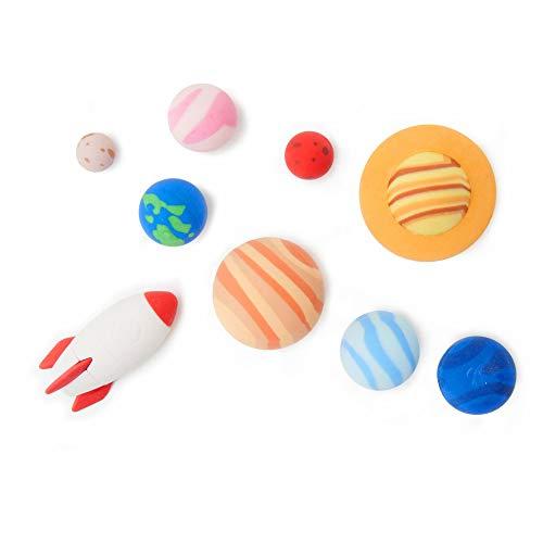 Legami - Solar System, Set di 9 Gomme