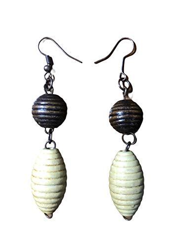 Handmade earrings / pendientes mujer/ aretes de S&B special collection, Hecho a Mano, Hecho en Turquía , Made In Turkey, Regalo, San Valentín, Pendiente elegante, colección, bisutería, único (Coral)