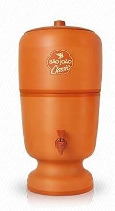 Filtro de Água de Barro Classic São João com Vela e Boia 5 Litros