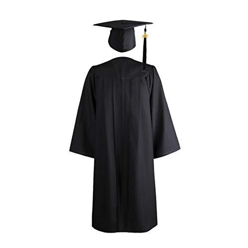 WOTEG Toge Diplome 2021 - Sombrero universitario para adulto, graduacin de Cap and Gown Universidad Escuela Secundaria Maestro Disfraz Mujer Hombre