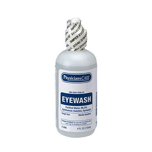 First Aid Only FAE-7016 SmartCompliance Refill Eyewash, 4 Ounces