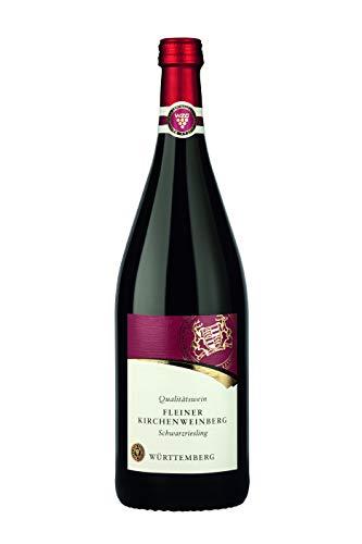 Württemberger Wein Fleiner Kirchenweinberg Schwarzriesling QW halbtrocken (1 x 1,0l)