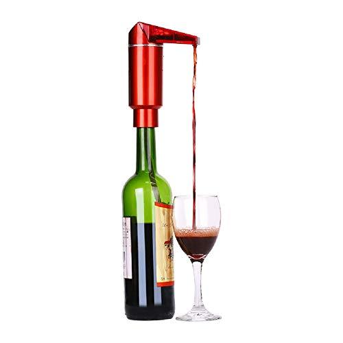 LHZTZKA elektrische wijnschenktuit wijnbeluchter wijnschenktuit schenktuit wijn zuurstoffilter wijndecanter met één aanraking