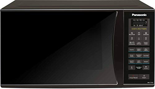 Panasonic 23L Convection Microwave Oven(NN-CT353BFDG,Black Mirror, 360° Heat Wrap) with Starter Kit