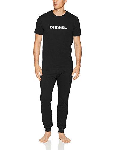 Diesel Herren UMSET-Jake-Julio Pajama Gift Pyjama Set, schwarz, Large