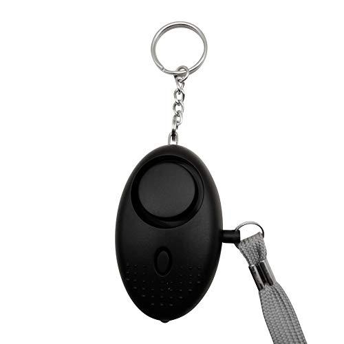Leezo Personal Alarm Keychain 130db Alarm Polizei genehmigt Mini Laut Sicherheit Sicherheit Panik Angriff Alarm Schlüsselanhänger mit Taschenlampe für Frauen Kinder...