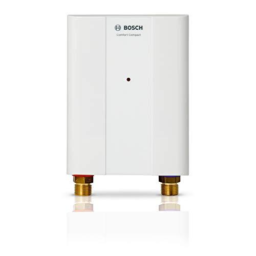Bosch elektronischer Kleindurchlauferhitzer Tronic 4000 6 EB, kompakter übertisch Durchlauferhitzer mit Festanschluss, Energieklasse A, 6 kW [Energieklasse A]
