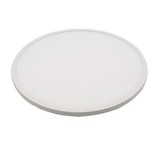 WFSDKN plafondlamp, ultradun, 12 W, rond, LED-display, SMD3014, AC85-265 V, LED, plafondlamp, binnen, wit/warm wit, met LED-driver