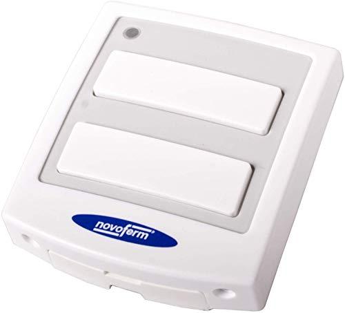 Funkwandtaster Innentaster 433 MHz Tormatic Novoferm DuoControl weiß