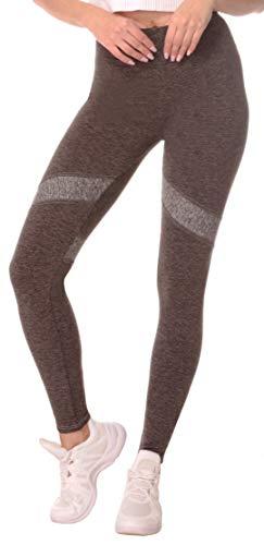 BeLady Leggings dames enkellang yoga-fitnessbroek lange streetwear- & sportbroek met zachte warme binnenfleece hoge elasticiteit sportkleding