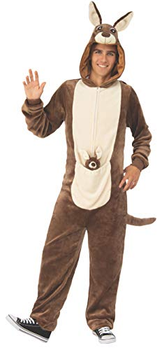Rubie's Unisex-Adult's Opus Collection Comfy Wear Kangaroo Costume, Brown/Tan, L-XL