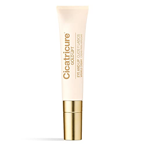Cicatricure Gold Lift Dual Contour Eye and Lip Wrinkle Cream, 0.5 Ounce