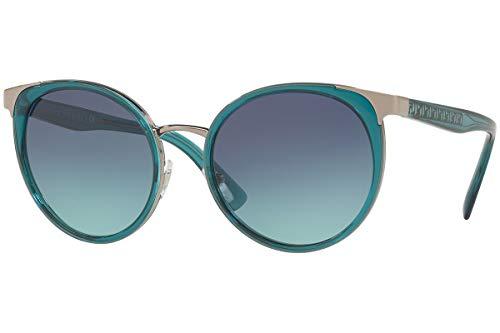 Versace VE2185 zonnebril petroleum met blauwe spiegelglazen 54 mm 10034S VE 2185