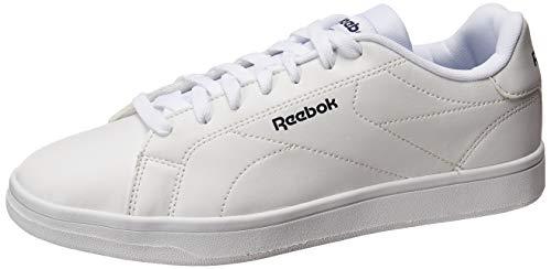 Reebok Royal Complete CLN2, Zapatos de Tenis Unisex Adulto, Multicolor (Blanco/Maruni/Blanco), 44 EU