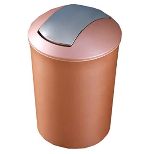 Touch Top BIN/stofzuiger/vuilnisemmer/keuken/huis/kunststof-10 l Large goud