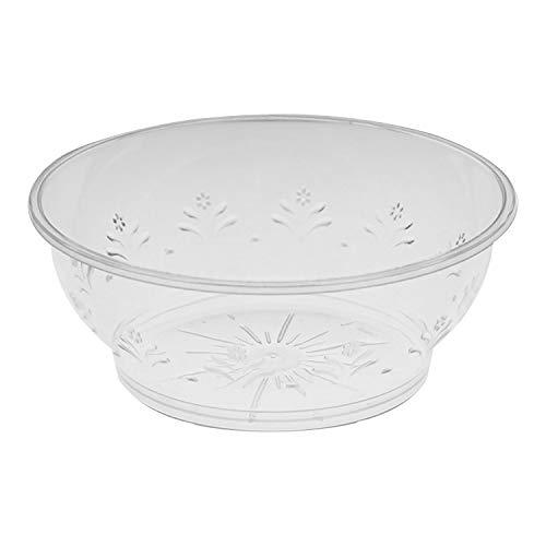 20 Multi-uso Cuencos Reutilizables Elegantes, 285ml - Bol de Plástico Resistente - Para Sopa, Aperitivo y Postre - Diseño...