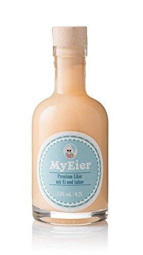 Eierlikör von MyEier – Der premium Eierlikör in einer 0,2l Korkflasche 15% Vol. - schmeckt wie hausgemacht