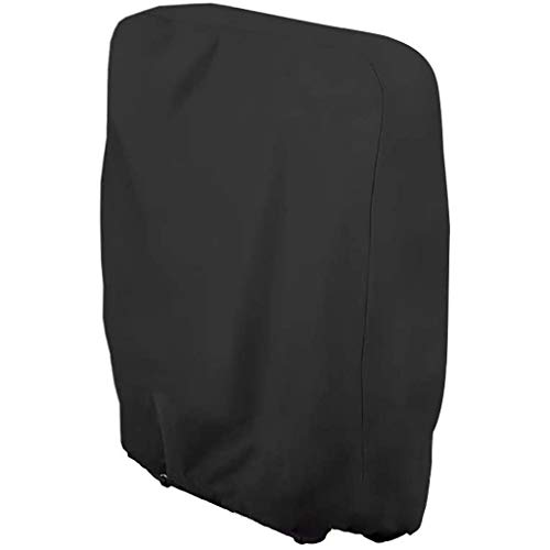 Funda Plegable para Silla Funda Reclinable Impermeable UV Oxford Paño 110Cmx71Cm(Negro)