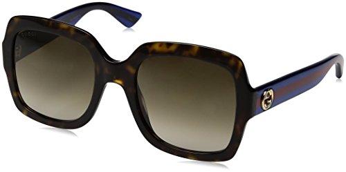 Gucci 0036S_004 (54 mm) gafas de sol, Havana, 54 para Mujer