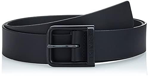 Levi's ALDERPOINT Metal Cintura, Regular Black, 75 cm Men's