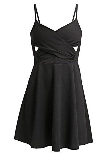 MISS SELFRIDGE PETITE Jerseykleid - black Gr. 36