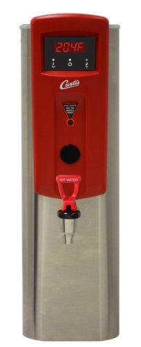 "Wilbur Curtis Hot Water Dispenser 5.0 Gallon  Narrow, 13.88"" Faucet Height - Commercial Hot Water Dispenser with Digital Control Module - WB5NL (Each)"