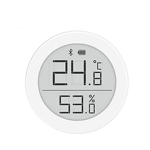 ZEYUE Qingping Termohigrómetro Bluetooth versión H, 2 Modos Consumo de energía Ultra bajo Ángulo de visión Ultra Amplio Soporte de Pantalla de Tinta electrónica Siri HomeKit
