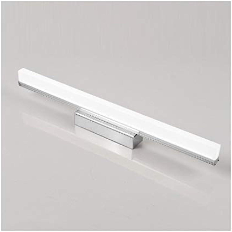 badezimmerlampe LED Spiegel Scheinwerfer Wasserdicht Anti-fog Bad Lampe Einfache Schlafzimmer Korridor Wandleuchte Schminklicht (Farbe   Positive Weiß light-40 cm)