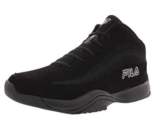 Fila Men's Contingent 4 Basketball Sneaker,Black,12