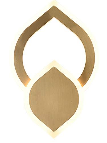 Lámpara De Pared, Interior Geométrica Acrílica Anticorrosión Y Antioxidante Lámpara De Pared LED Resistente a Altas Temperaturas, Adecuada Para Sala De Estar Dormitorio Restaurante Balcón De Entrada