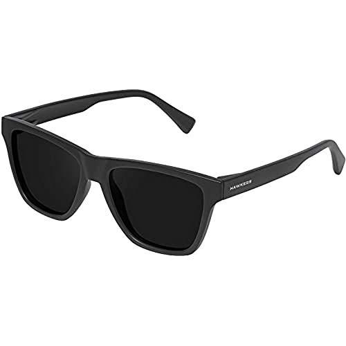 HAWKERS One LS Gafas de Sol, Carbon Black, Talla única Unisex Adulto