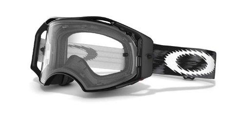 Oakley Gafas Máscara Airbrake MX Jet Negro Speed Lente Transparente