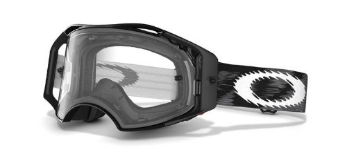 Oakley - 57-979 Airbrake MX Goggles (Jet Black Speed Frame/Clear Lens)