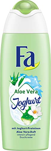 FA Duschcreme Aloe Vera Joghurt mit Joghurt-Proteinen und Aloe Vera-Duft, 6er Pack (6 x 250 ml)