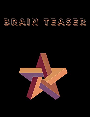 Brain Teaser: Brain Teasers Paper Blank Notebook Journal 8.5x11' 150 Pages | This Book Is Inspired By Mind Sport
